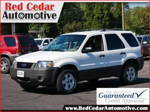 2005 Ford Escape for sale at Red Cedar Automotive in Menomonie WI