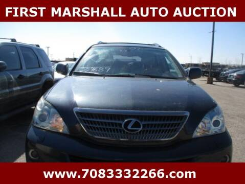 2007 Lexus RX 400h for sale at First Marshall Auto Auction in Harvey IL