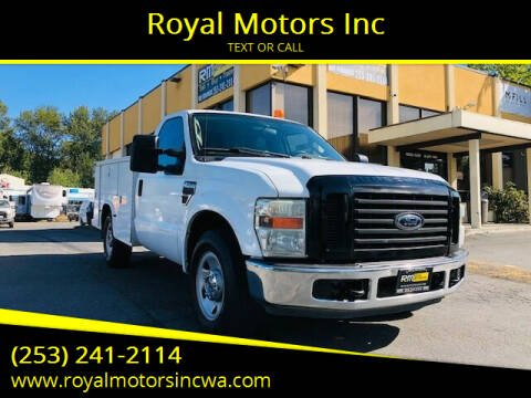 2008 Ford F-250 Super Duty for sale at Royal Motors Inc in Kent WA