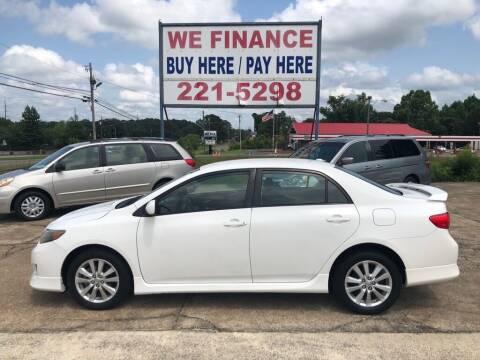 2010 Toyota Corolla for sale at Price Auto Sales Inc in Jasper AL