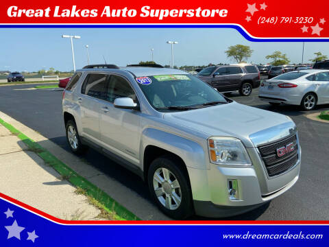2013 GMC Terrain for sale at Great Lakes Auto Superstore in Waterford Township MI