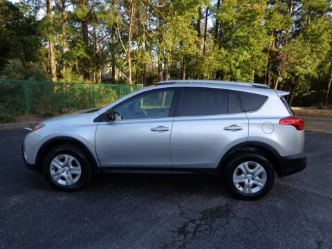 2014 Toyota RAV4 for sale at BALKCUM AUTO INC in Wilmington NC