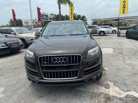 2010 Audi Q7 for sale at America Auto Wholesale Inc in Miami FL