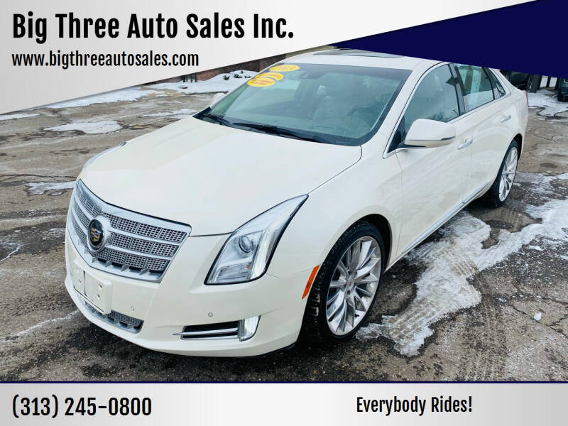 2013 Cadillac XTS for sale at Big Three Auto Sales Inc. in Detroit MI