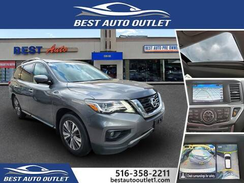 2017 Nissan Pathfinder for sale at Best Auto Outlet in Floral Park NY