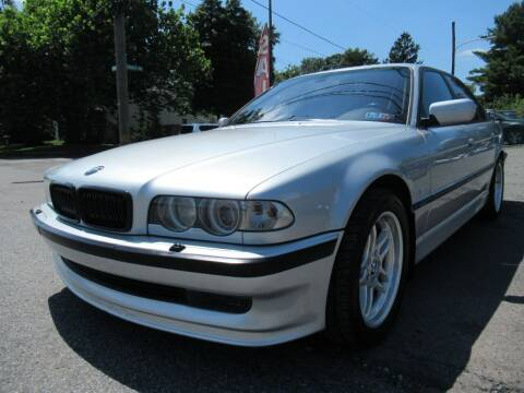 2000 BMW 7 Series for sale at PRESTIGE IMPORT AUTO SALES in Morrisville PA