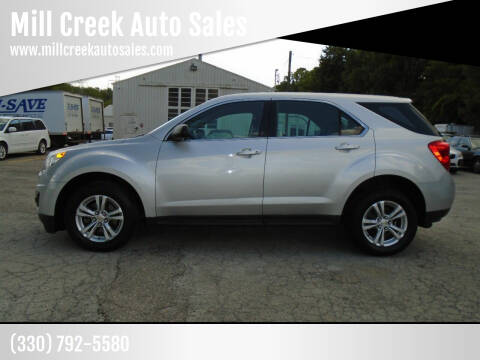 2015 Chevrolet Equinox for sale at Mill Creek Auto Sales in Youngstown OH