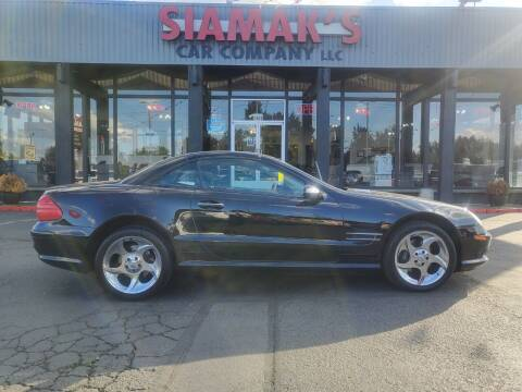 2005 Mercedes-Benz SL-Class for sale at Siamak's Car Company llc in Salem OR