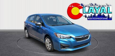 2018 Subaru Impreza for sale at Layal Automotive in Englewood CO