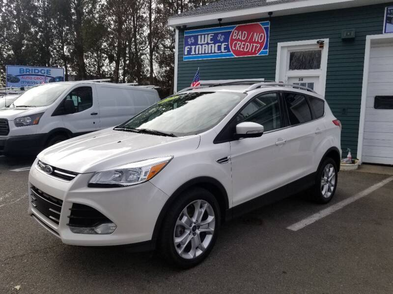 2015 Ford Escape for sale at Bridge Auto Group Corp in Salem MA