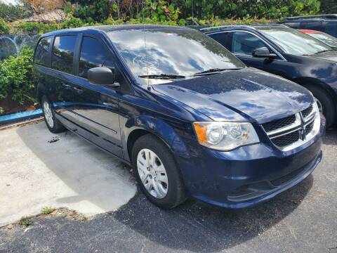 2015 Dodge Grand Caravan for sale at America Auto Wholesale Inc in Miami FL