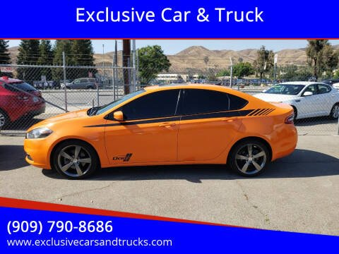 2014 Dodge Dart for sale at Exclusive Car & Truck in Yucaipa CA
