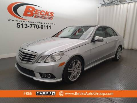2010 Mercedes-Benz E-Class for sale at Becks Auto Group in Mason OH