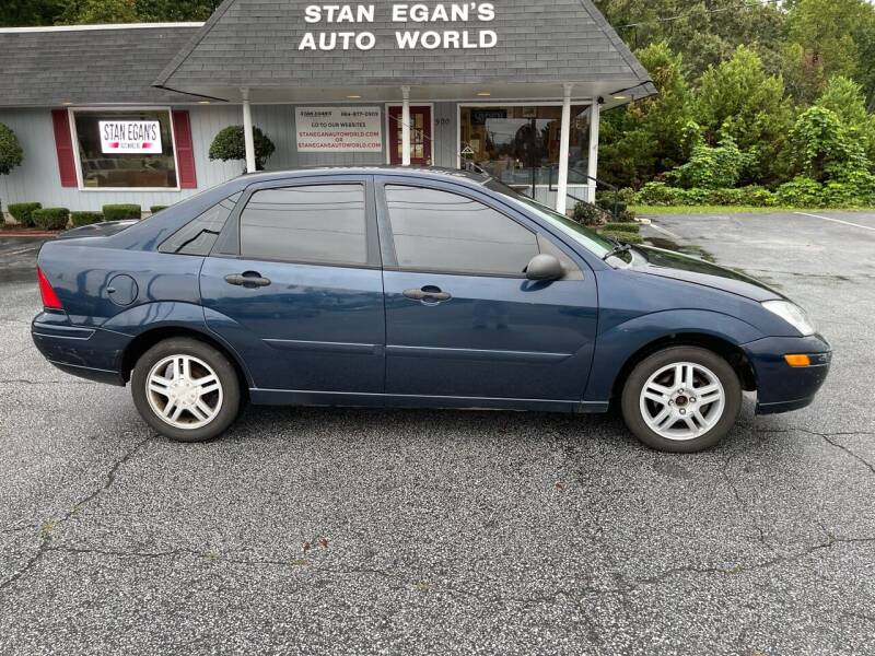 2003 Ford Focus for sale at STAN EGAN'S AUTO WORLD, INC. in Greer SC