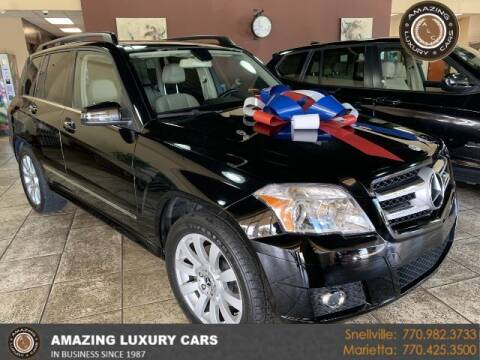 2012 Mercedes-Benz GLK for sale at Amazing Luxury Cars in Snellville GA