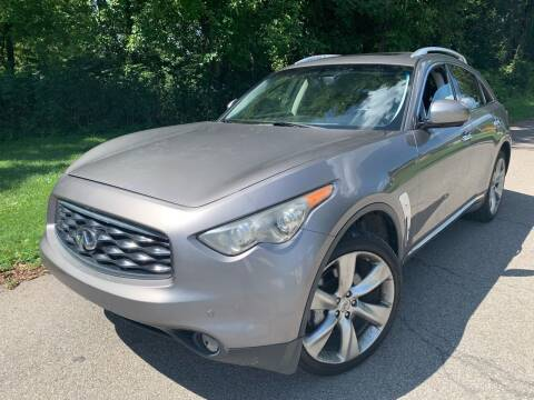 2009 Infiniti FX50 for sale at Trocci's Auto Sales in West Pittsburg PA