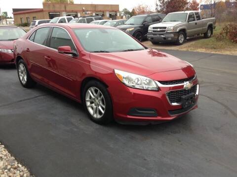 2014 Chevrolet Malibu for sale at Bruns & Sons Auto in Plover WI