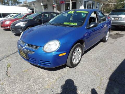 2005 Dodge Neon for sale at Gold Key Motors in Centralia WA