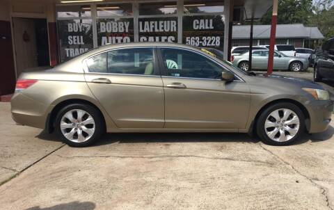 2009 Honda Accord for sale at Bobby Lafleur Auto Sales in Lake Charles LA