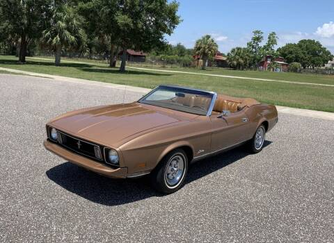 1973 Ford Mustang for sale at P J'S AUTO WORLD-CLASSICS in Clearwater FL
