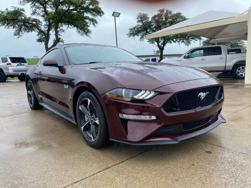2018 Ford Mustang for sale at Thornhill Motor Company in Hudson Oaks, TX