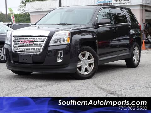 2015 GMC Terrain for sale at Used Imports Auto - Southern Auto Imports in Stone Mountain GA