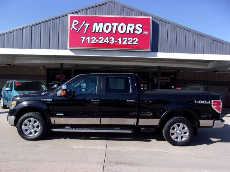 2013 Ford F-150 for sale at RT Motors Inc in Atlantic IA