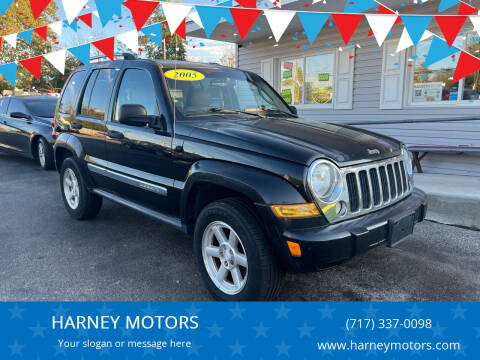 2005 Jeep Liberty for sale at HARNEY MOTORS in Gettysburg PA