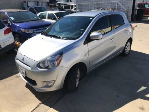 2015 Mitsubishi Mirage for sale at OCEAN IMPORTS in Midway City CA