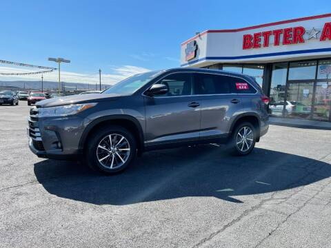 2017 Toyota Highlander for sale at Better All Auto Sales in Yakima WA
