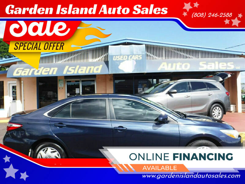 2015 Toyota Camry for sale at Garden Island Auto Sales in Lihue HI