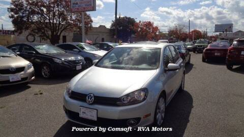 2011 Volkswagen Golf for sale at RVA MOTORS in Richmond VA
