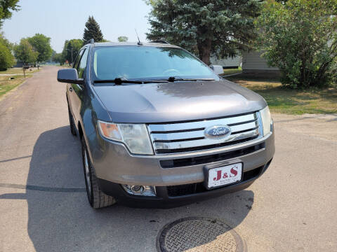 2010 Ford Edge for sale at J & S Auto Sales in Thompson ND