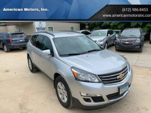 2013 Chevrolet Traverse for sale at American Motors, Inc. in Farmington MN