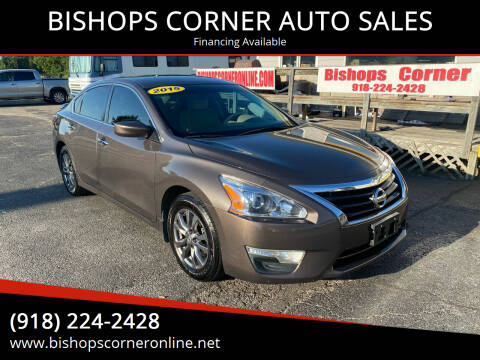 2015 Nissan Altima for sale at BISHOPS CORNER AUTO SALES in Sapulpa OK