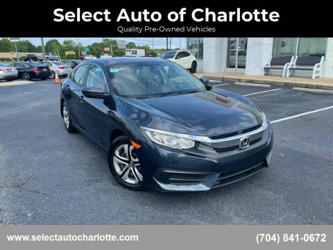 2017 Honda Civic for sale at Select Auto of Charlotte in Matthews NC