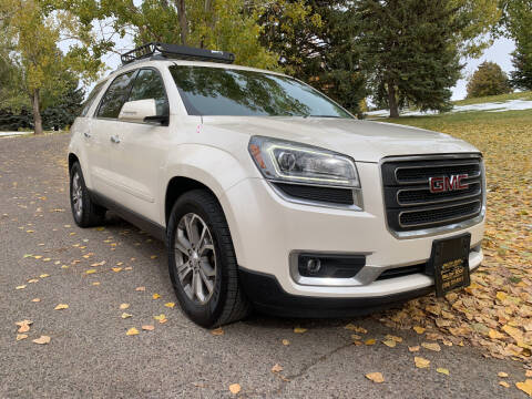 2014 GMC Acadia for sale at BELOW BOOK AUTO SALES in Idaho Falls ID