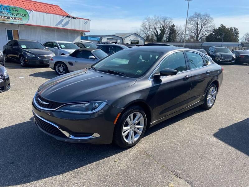 2015 Chrysler 200 for sale at Premium Auto Brokers in Virginia Beach VA