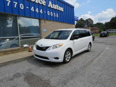 2014 Toyota Sienna for sale at 1st Choice Autos in Smyrna GA