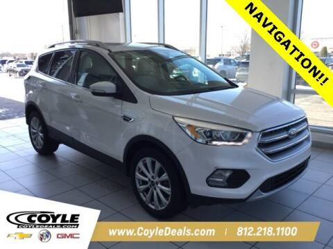 2017 Ford Escape for sale at COYLE GM - COYLE NISSAN in Clarksville IN