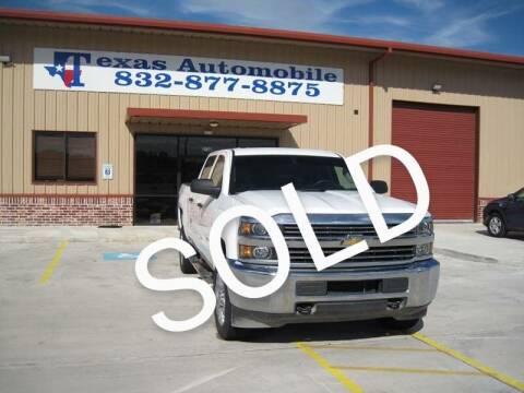 2015 Chevrolet Silverado 2500HD for sale at TEXAS AUTOMOBILE in Houston TX