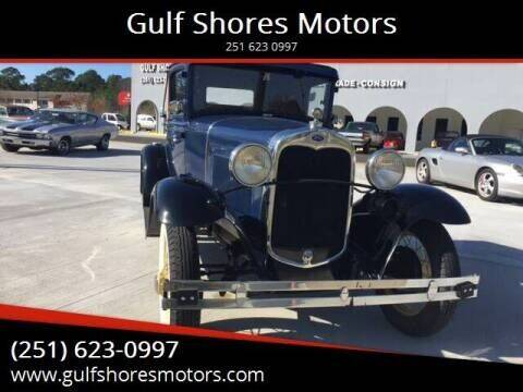 1930 Ford Model A for sale at Gulf Shores Motors in Gulf Shores AL