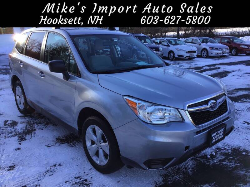 2015 Subaru Forester for sale at Mikes Import Auto Sales INC in Hooksett NH