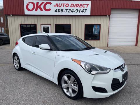 2014 Hyundai Veloster for sale at OKC Auto Direct, LLC in Oklahoma City OK