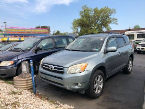 2006 Toyota RAV4 for sale at Diamond Auto Sales in Pleasantville NJ