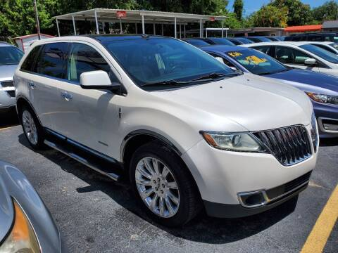 2011 Lincoln MKX for sale at America Auto Wholesale Inc in Miami FL