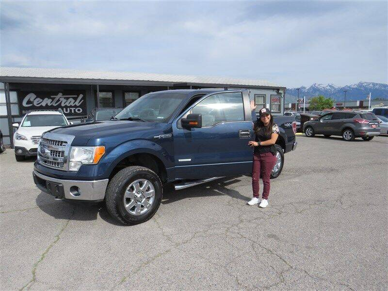 2014 Ford F-150 for sale at Central Auto in South Salt Lake UT