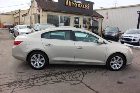 2010 Buick LaCrosse for sale at BANK AUTO SALES in Wayne MI