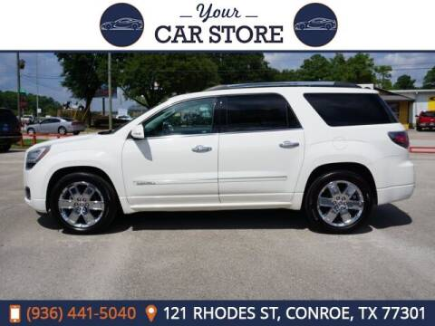 2013 GMC Acadia for sale at Your Car Store in Conroe TX