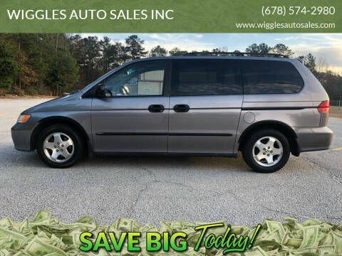 2000 Honda Odyssey for sale at WIGGLES AUTO SALES INC in Mableton GA